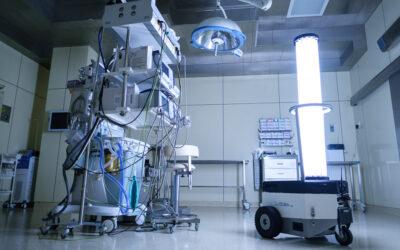 Робот-дезинфектор — новое оружие больницы в борьбе с пандемией
